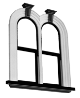 Arched Doors & Windows | Product Double Arched Window